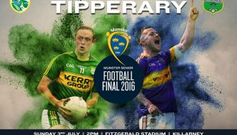Munster Final Tickets –  Kerry V Tipp 3th July