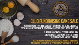 Cake Sale in Connolly Park this  Sunday