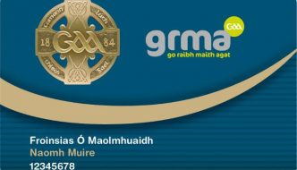 New GAA Membership Card and grma rewards programme is now live.