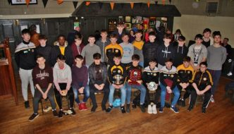 U16 Boys Football Awards 2017