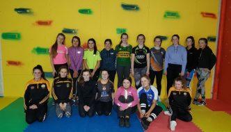 Stacks U16 Girls Hit the Gym