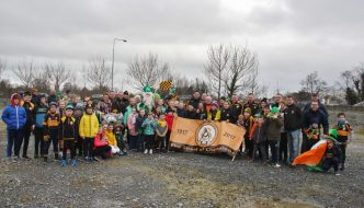 St. Patrick's Day Parade Photos . . . thanks for flying the Flag!