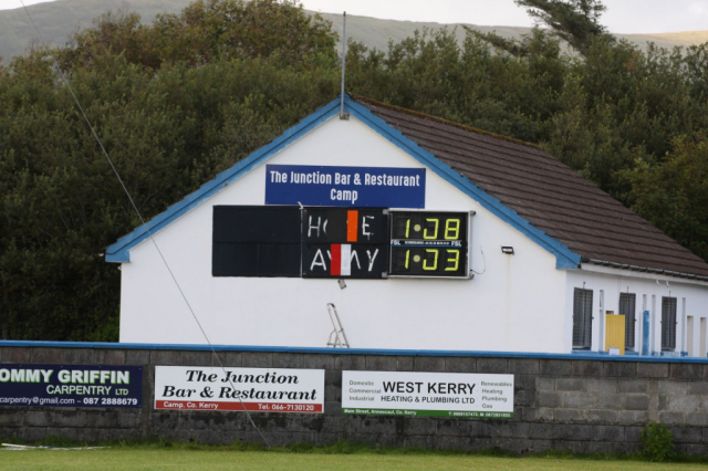 half time score in Annascaul